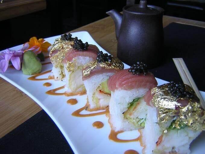 high roller sushi roll